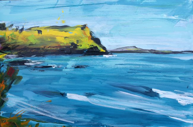 Goat Island painting Christian Nicolson