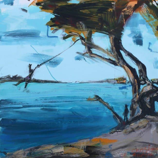 The Swing painting Christian Nicolson