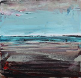 West of North painting Christian Nicolson